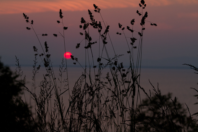 Coucher de soleil (Photo : © David Guimont)