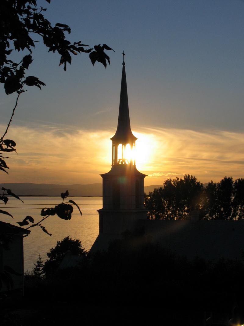 Clocher de l'église (Photo : © Mario Ouimet)