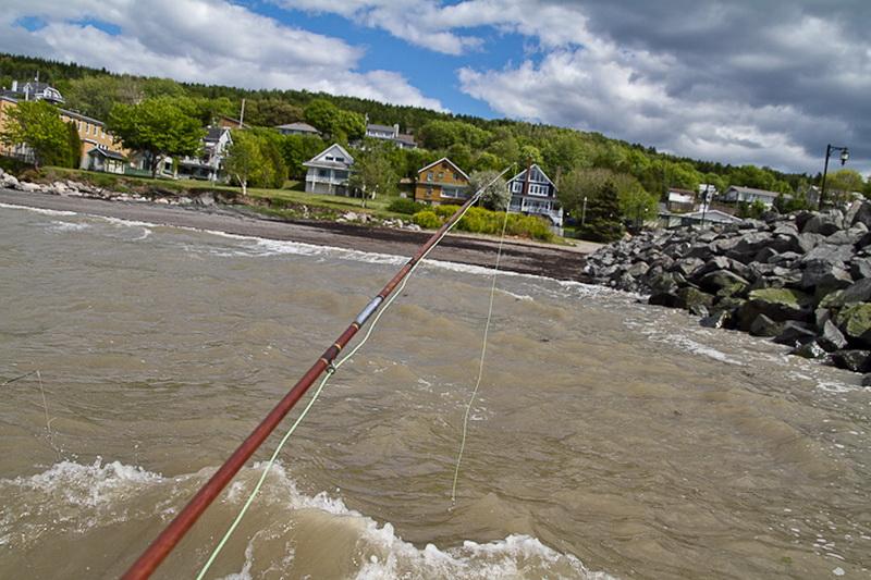 Pêche sur le Fleuve (Photo : © David Guimont)
