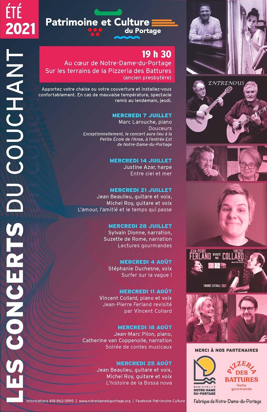 2021 Concerts du couchant